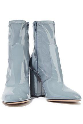 VALENTINO GARAVANI Patent-leather sock boots