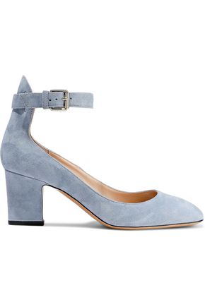 VALENTINO GARAVANI Suede Mary Jane pumps