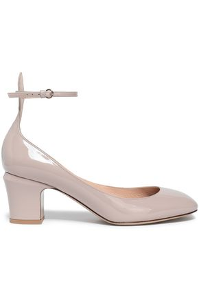 VALENTINO GARAVANI Patent-leather Mary Jane pumps