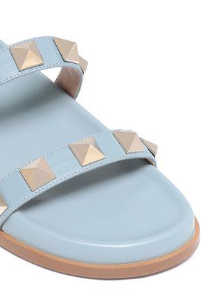 VALENTINO GARAVANI Soul Rockstud leather slides