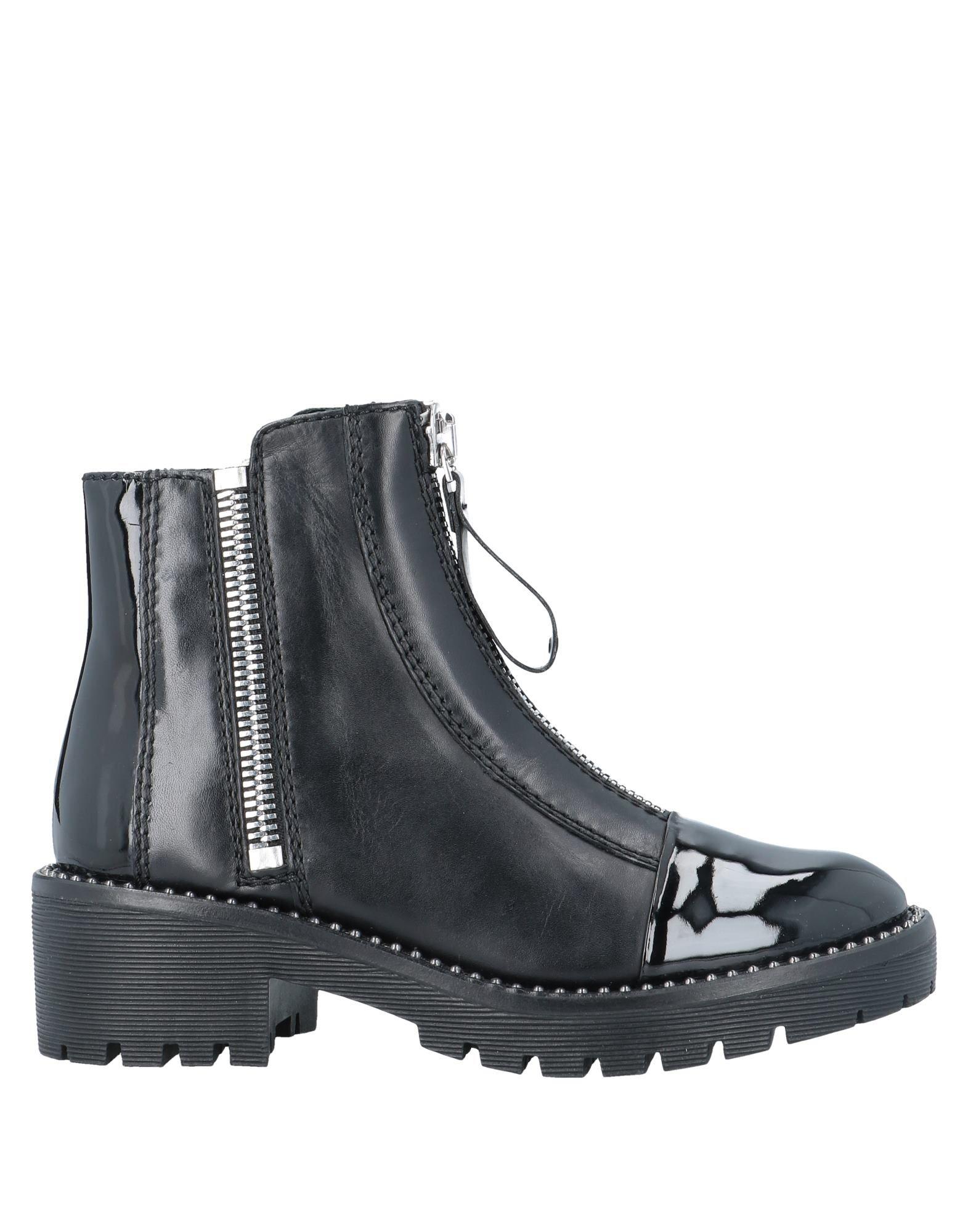 《期間限定セール中》APEPAZZA レディース ショートブーツ ブラック 36 革 / 紡績繊維