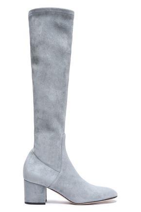 VALENTINO GARAVANI Suede knee boots