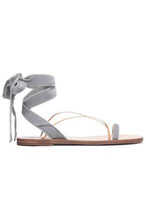 VALENTINO GARAVANI Velvet sandals