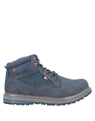 Фото - Полусапоги и высокие ботинки от GREENHOUSE POLO CLUB темно-синего цвета