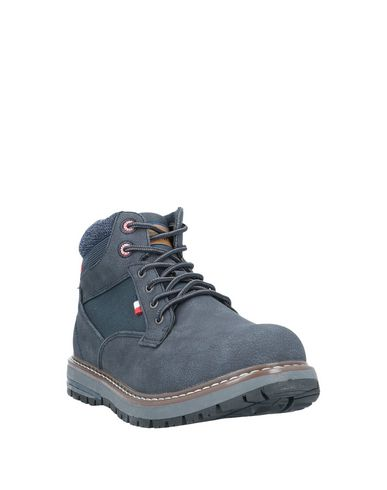 Фото 2 - Полусапоги и высокие ботинки от GREENHOUSE POLO CLUB темно-синего цвета
