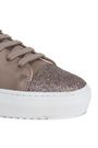 AXEL ARIGATO Glitter-trimmed leather sneakers