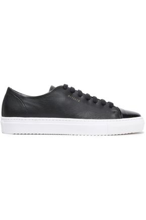 AXEL ARIGATO Smooth and glossed-leather sneakers