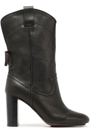 SEE BY CHLOÉ Annika lace-up leather boots