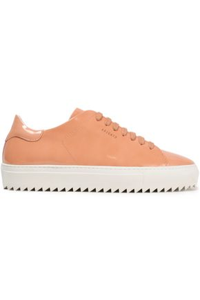 AXEL ARIGATO Patent-leather sneakers