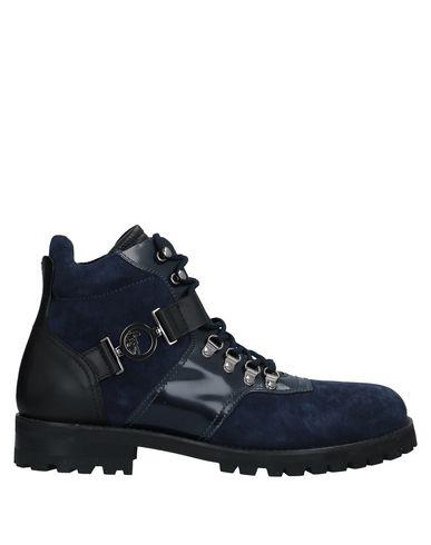 Фото - Полусапоги и высокие ботинки синего цвета
