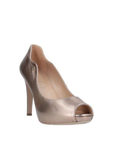 Фото 2 - Женские туфли NERO GIARDINI цвет платиновый