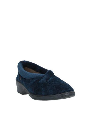 Фото 2 - Домашние туфли темно-синего цвета