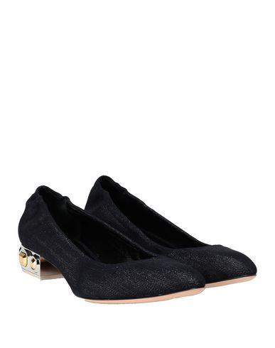 Фото 2 - Женские туфли  темно-синего цвета