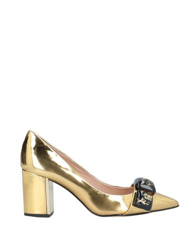 Фото - Женские туфли HANNIBAL LAGUNA золотистого цвета