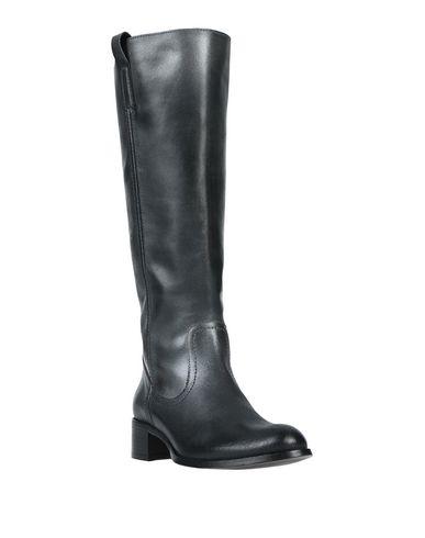 Фото 2 - Женские сапоги  свинцово-серого цвета