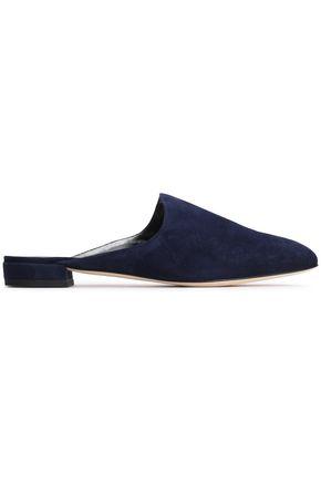 STUART WEITZMAN Suede slippers