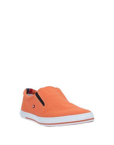 Фото 2 - Низкие кеды и кроссовки оранжевого цвета
