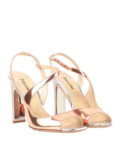 Фото 2 - Женские сандали  цвет медный