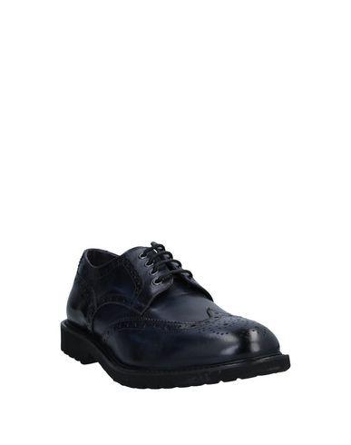 Фото 2 - Обувь на шнурках от PAOLO DA PONTE темно-синего цвета