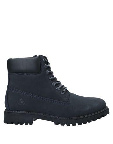 Купить Полусапоги и высокие ботинки от LUMBERJACK темно-синего цвета