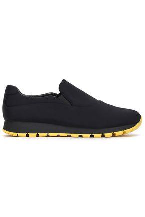 PRADA LINEA Neoprene slip-on sneakers