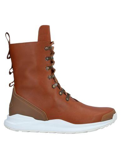 Фото - Высокие кеды и кроссовки от HOOD with RICK OWENS коричневого цвета