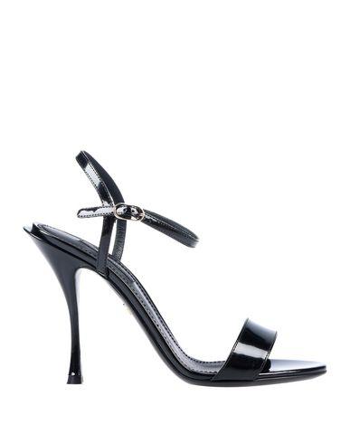 Купить Женские сандали  черного цвета