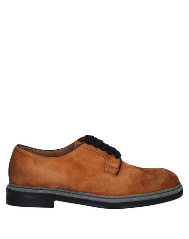 Фото - Обувь на шнурках цвет верблюжий