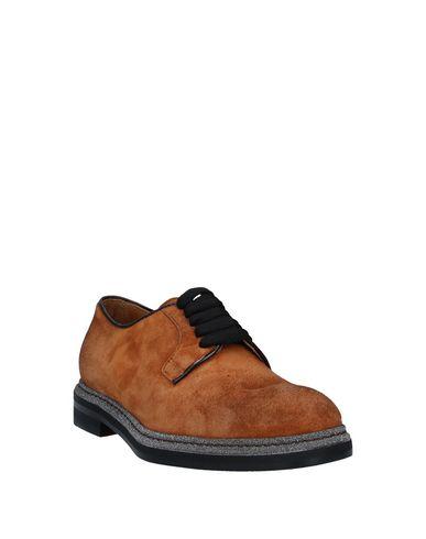 Фото 2 - Обувь на шнурках цвет верблюжий