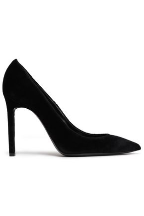 SAINT LAURENT Velvet pumps