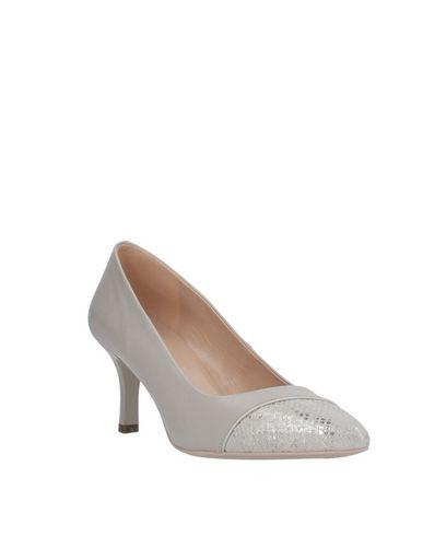 Фото 2 - Женские туфли NERO GIARDINI светло-серого цвета
