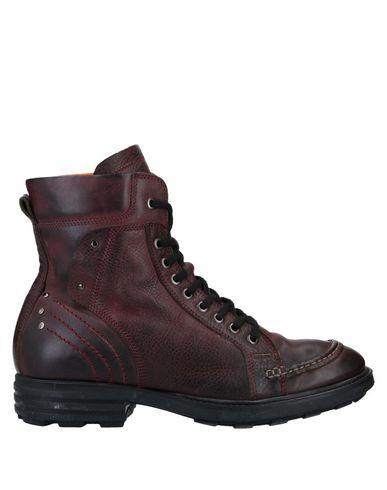 Фото - Полусапоги и высокие ботинки от POLICE 883 красно-коричневого цвета