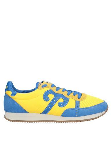 Купить Низкие кеды и кроссовки от WUSHU SHOES желтого цвета