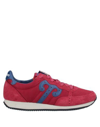 Фото - Низкие кеды и кроссовки от WUSHU SHOES красно-коричневого цвета