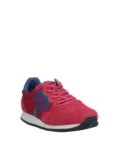 Фото 2 - Низкие кеды и кроссовки от WUSHU SHOES красно-коричневого цвета