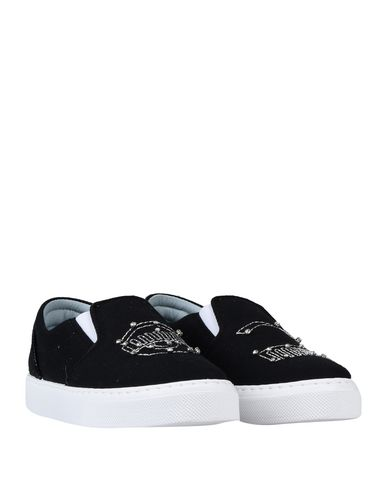 Фото 2 - Низкие кеды и кроссовки от CHIARA FERRAGNI черного цвета