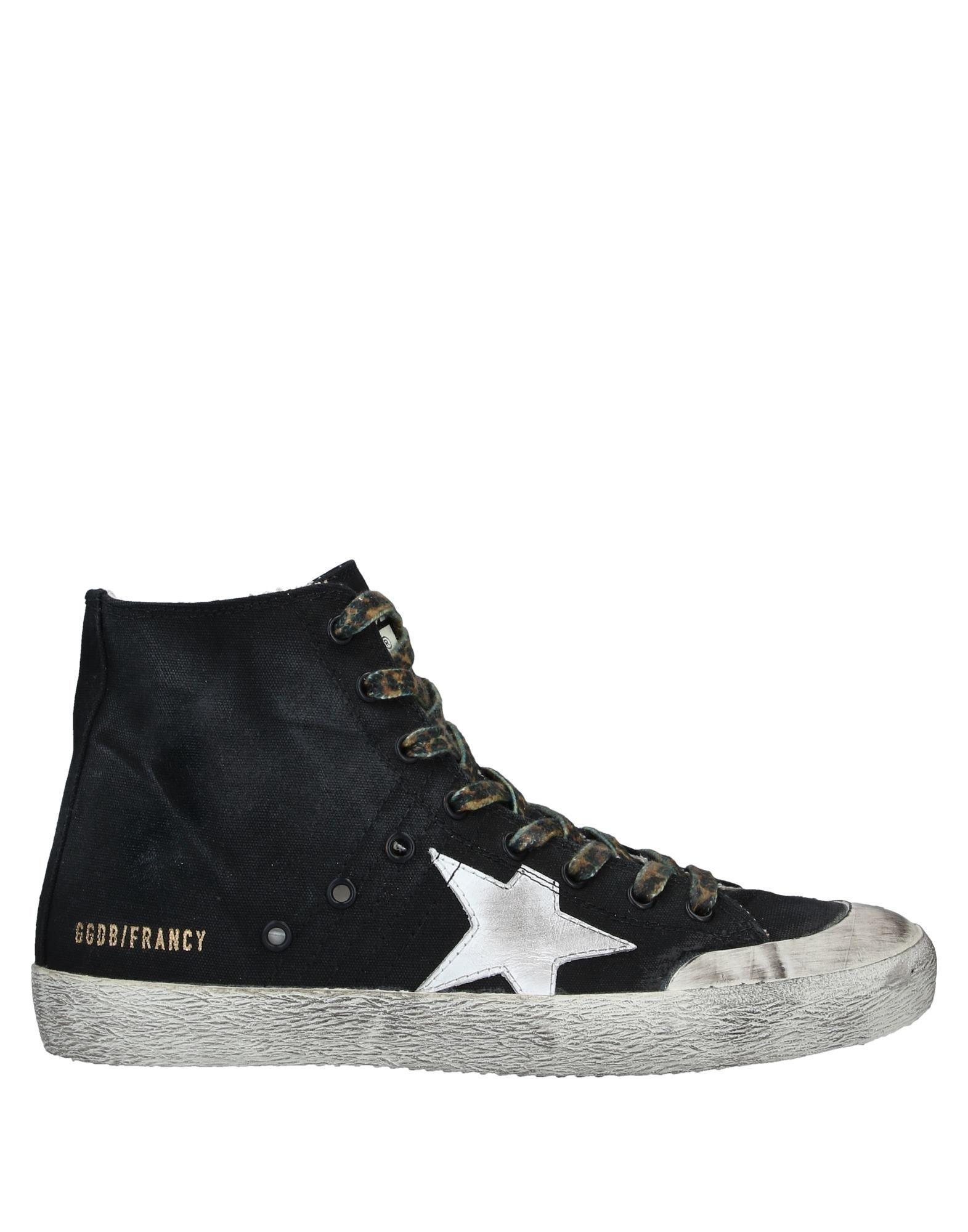 кеды кожаные высокие на шнуровке и молнии banjou GOLDEN GOOSE DELUXE BRAND Высокие кеды и кроссовки