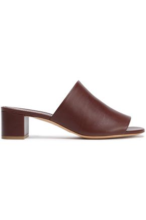 MANSUR GAVRIEL Leather mules