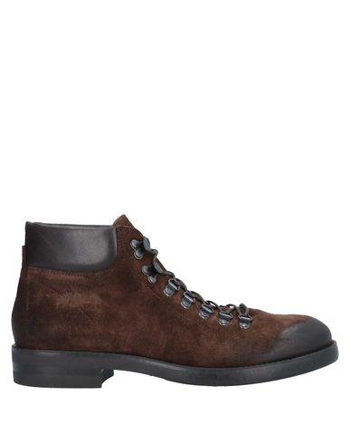 Фото - Полусапоги и высокие ботинки от BOEMOS темно-коричневого цвета