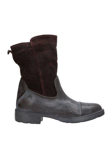 Фото - Полусапоги и высокие ботинки от POLICE 883 темно-коричневого цвета