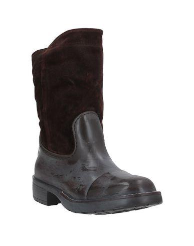 Фото 2 - Полусапоги и высокие ботинки от POLICE 883 темно-коричневого цвета