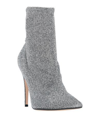 Фото 2 - Полусапоги и высокие ботинки серебристого цвета