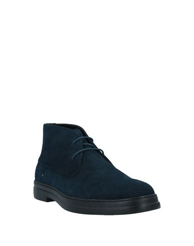 Фото 2 - Полусапоги и высокие ботинки темно-синего цвета