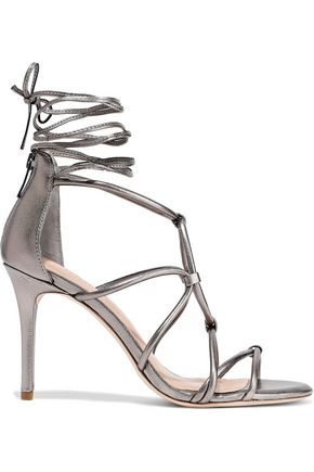 HALSTON HERITAGE Brielle lace-up leather sandals