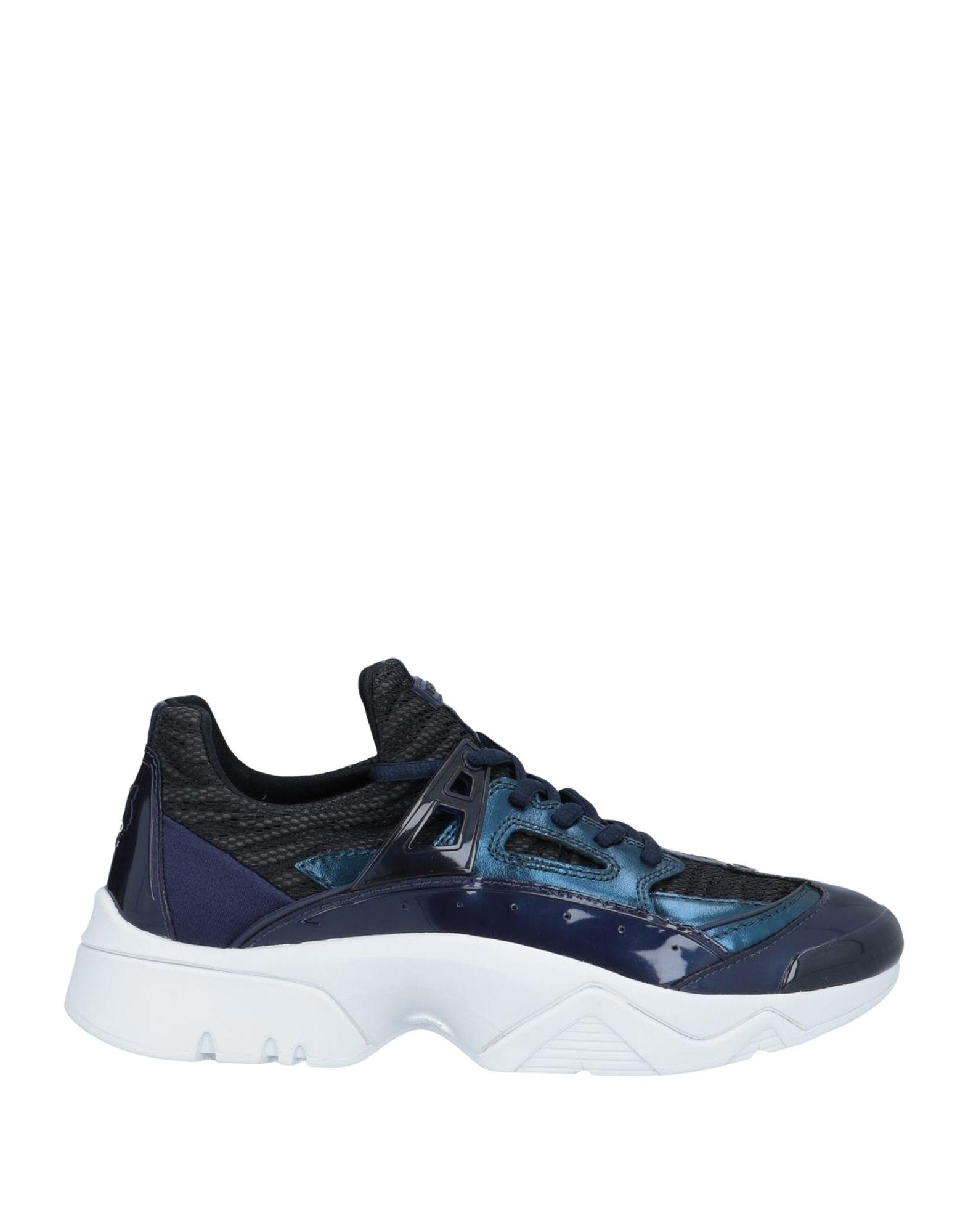《期間限定 セール開催中》KENZO レディース スニーカー&テニスシューズ(ローカット) ブルー 35 紡績繊維 / ゴム