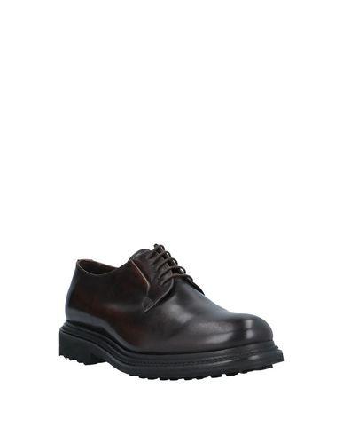 Фото 2 - Обувь на шнурках от RUE 51 темно-коричневого цвета
