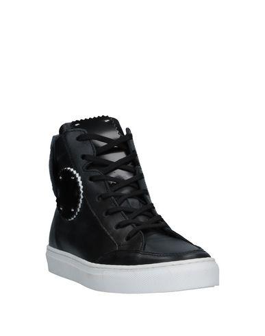 Фото 2 - Высокие кеды и кроссовки от ONE WAY черного цвета