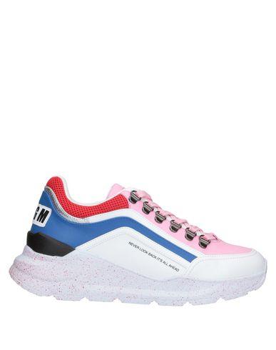 Фото - Низкие кеды и кроссовки от MSGM розового цвета