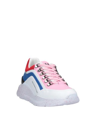 Фото 2 - Низкие кеды и кроссовки от MSGM розового цвета