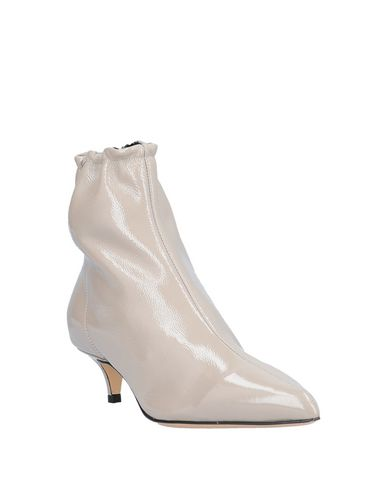 Фото 2 - Полусапоги и высокие ботинки светло-серого цвета